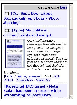 CCN - Collaborative campaign news thingy